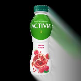 Jogurt activia malina/granat 300 g Danone