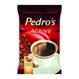 Kawa mielona Pedros active 100g Strauss Cafe
