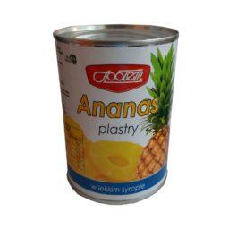 Ananas plastry w syropie 565g Konshurt