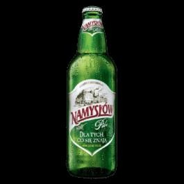 Piwo Namysłów pils butelka bzw 500ml Browar Namysłów