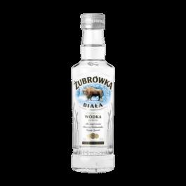 Wódka Żubrówka biała 40% 200ml CEDC