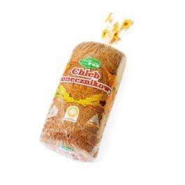 Chleb gatunkowy słonecznikowy krojony 500g Społem PSS