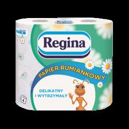 Papier toaletowy Regina rumiankowy 4szt. Delitissue