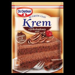 Krem do tortów czekoladowy 140g Dr Oetker