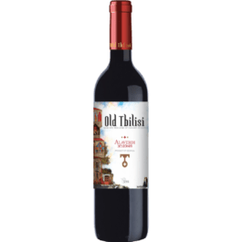 Wino czerwone półwytrawne old tbilisi 0,75l Faktoria Win