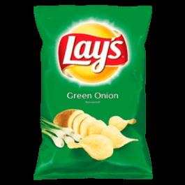 Chipsy Lay's o smaku zielonej cebulki 140g Frito Lay