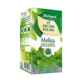 Herbata ekspresowa zielnik polski melisa 20szt. Herbapol