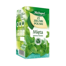 Herbata ekspresowa zielnik polski mięta 20szt. Herbapol