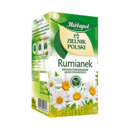 Herbata ekspresowa zielnik polski rumianek 20szt. Herbapol
