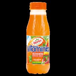 Sok vitaminka marchew/jabłko/brzoskwinia 0,3l Hortex