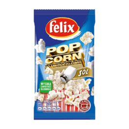 Popcorn do mikrofalówki Felix solony 90g Intersnack