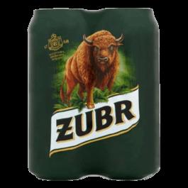 Piwo Żubr puszka 4x500ml Kompania Piwowarska