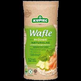 Wafle ryżowe naturalne 120g Kupiec