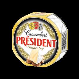 Ser pleśniowy camembert naturalny president 120g Lactalis
