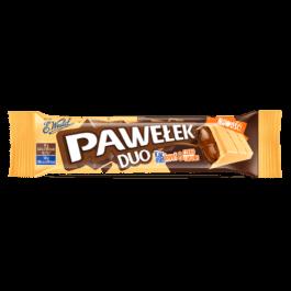 Baton pawełek duo z nadzieniem karmelowo-czekoladowym 45g Wedel