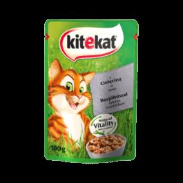 Karma dla kota Kitekat z cielęciną w sosie saszetka 100g Mars Polska