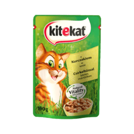 Karma dla kota Kitekat z kurczakiem w sosie saszetka 100g Mars Polska