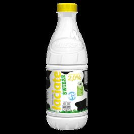 Mleko świeże łaciate 2% 1 litr butelka Mlekpol