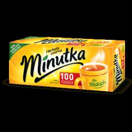 Herbata ekspresowa Minutka 100szt. Mokate