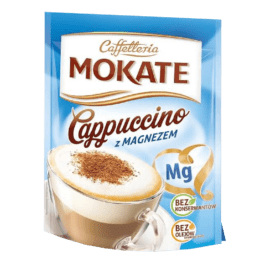 Kawa cappucino magnez 110g Mokate Żory