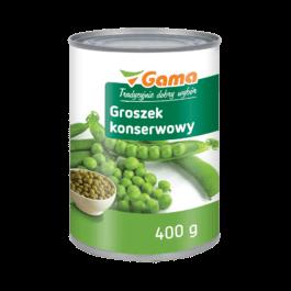 Groszek konserwowy 400g MW Gama