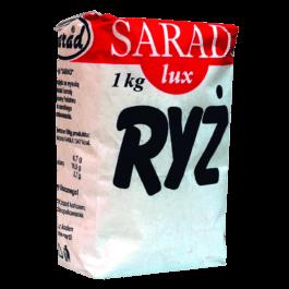 Ryż biały Sarad 1kg OSM Bidziny
