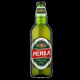 Piwo Perła chmielowa 6% butelka bzw 500ml Browar Perła