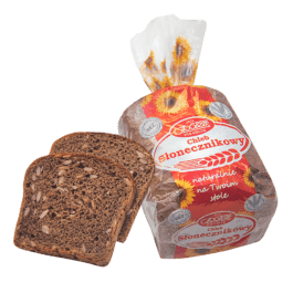 Chleb gatunkowy słonecznikowy krojony 250g Piekarnia Społem PSS