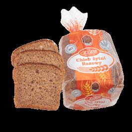 Chleb gatunkowy żytni razowy krojony 250g Piekarnia Społem PSS