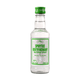 Spirytus rektyfikowany 95% 200ml Polmos Warszawa