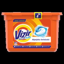 Kapsułki do prania Vizir alpejska świeżość 14szt Procter&Gamble