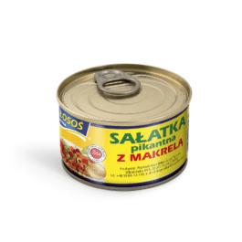 Sałatka z makreli pikantna 170 g Łosoś