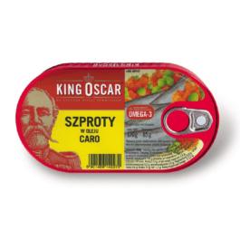 Szproty w oleju caro 170g King Oscar