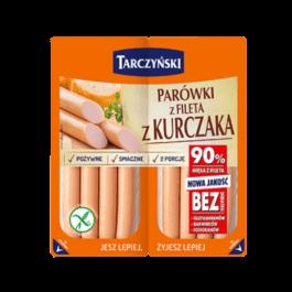 Parówki z fileta z kurczaka 180g Tarczyński