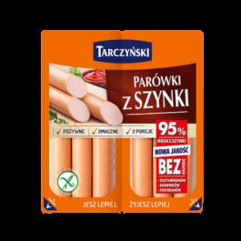 Parówki z szynki 220g Tarczyński