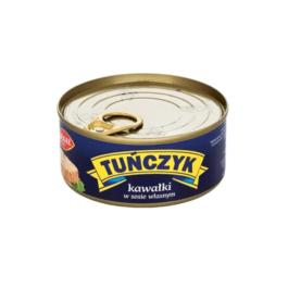 Tuńczyk kawałki w sosie własnym 170g Graal