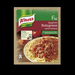 Fix Knorr do spaghetti bolognese extra ziołowe 48g Unilever Polska