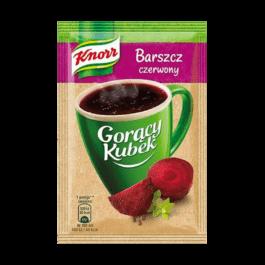 Gorący kubek barszcz czerwony knorr 14g Unilever Polska