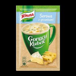 Gorący kubek serowa z grzankami knorr 22g Unilever Polska