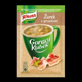 Gorący kubek żurek z grzankami knorr 17g Unilever Polska