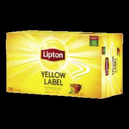 Herbata ekspresowa Lipton yellow label 50szt. Unilever Polska