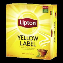 Herbata ekspresowa Lipton yellow label 88szt.*2g Unilever Polska