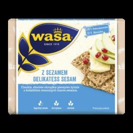 Pieczywo chrupkie z sezamem delikatess 220g Wasa Barilla