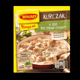 Fix Winiary pomysł na kurczaka w sosie śmietanowo-ziołowym 30g Nestle