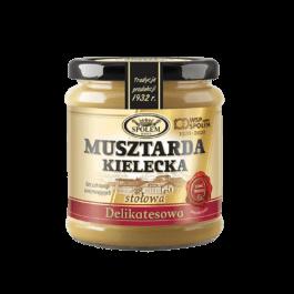 Musztarda delikatesowa 190g WSP Społem
