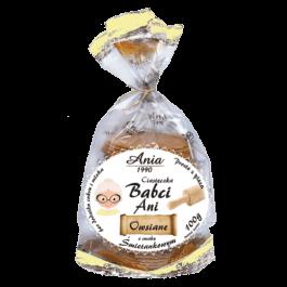 Ciasteczka owsiane śmietankowe bez cukru 100g Ania
