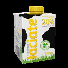 Mleko uht łaciate 2% 0,5l Mlekpol