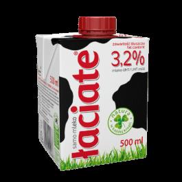 Mleko uht łaciate 3,2% 0,5l Mlekpol