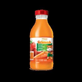Nektar gamuś marchew/jabłko/truskawka 0,33l Marka Własna Gama