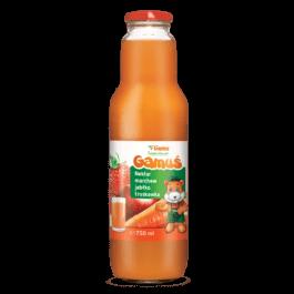 Nektar gamuś marchew/jabłko/truskawka 0,75l Marka Własna Gama